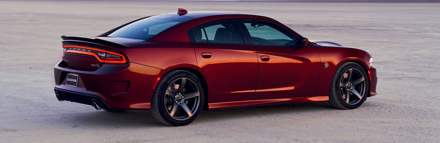 side view of 2019 Dodge Charger