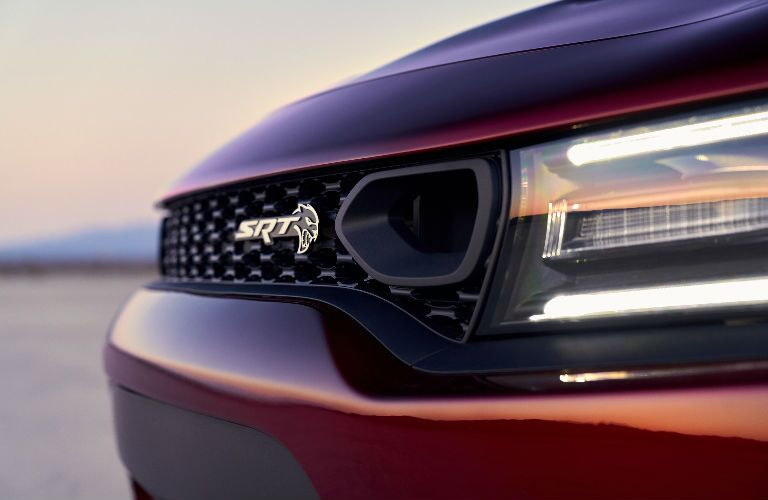front grille on 2019 Dodge Charger