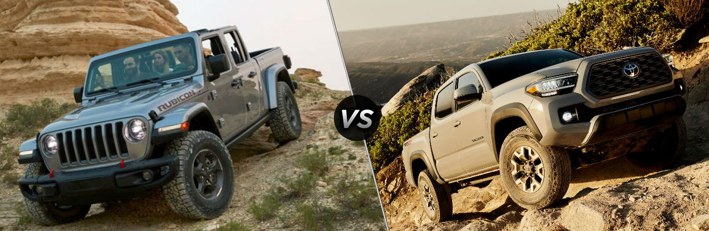 2020 Jeep Gladiator vs 2020 Toyota Tacoma