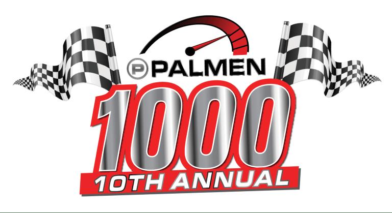10th Annual Palmen 1000 Logo Banner CLP