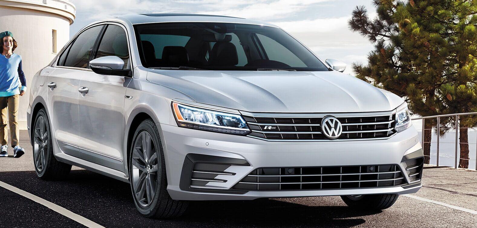 A Silver 2019 VW Passat