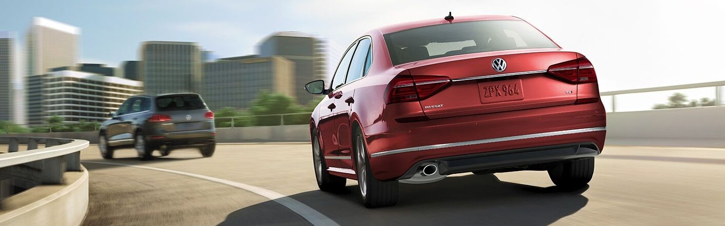 A Red 2019 VW Passat