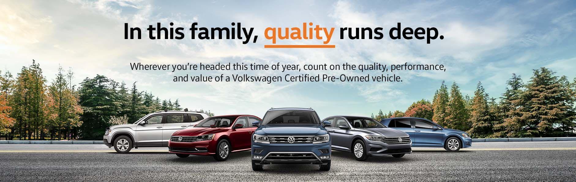 Volkswagen Certified Pre-Owned in Chattanooga, TN