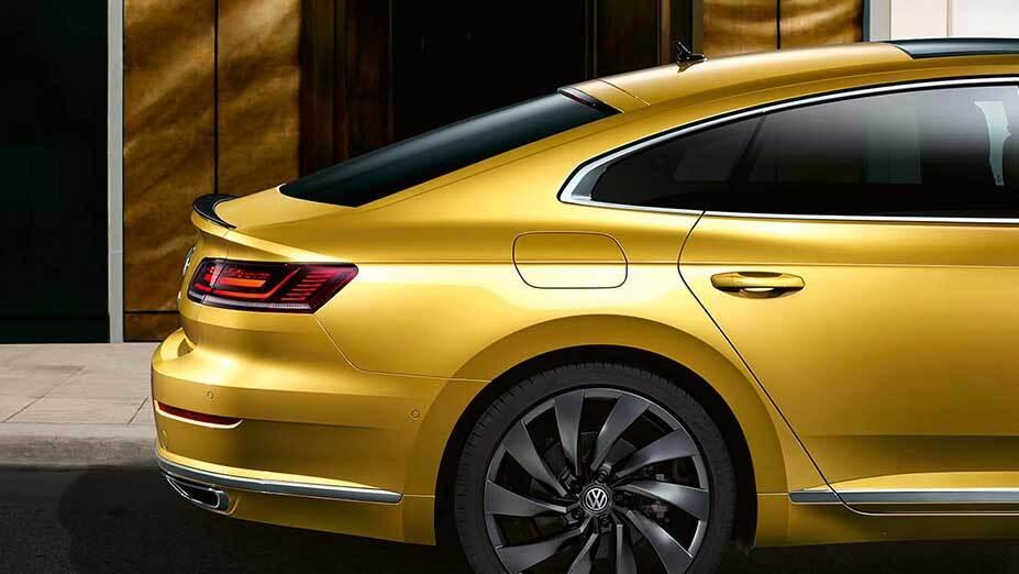 The 2019 Volkswagen Arteon's classic fastback design