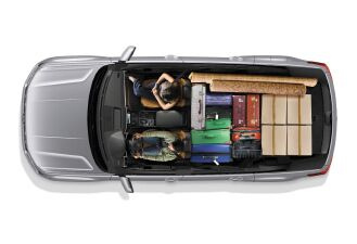 96.8 cubic feet of cargo space