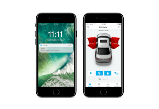 Open vehicle notification