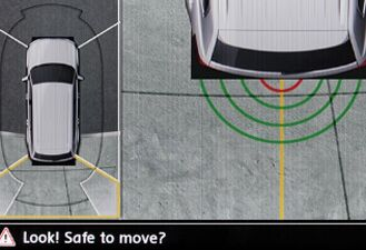 Overhead View Camera (Area View) and Rearview Camera System