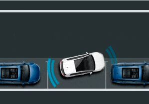 Park Distance Control with Maneuver Braking