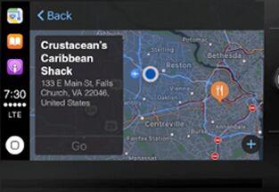 Touchscreen navigation system