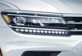 LED headlights with Adaptive Front-lighting System (AFS)