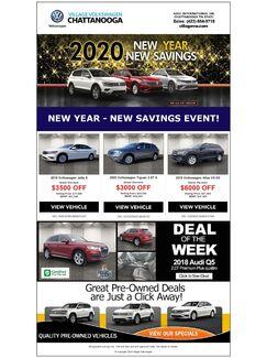 New Year New Savings
