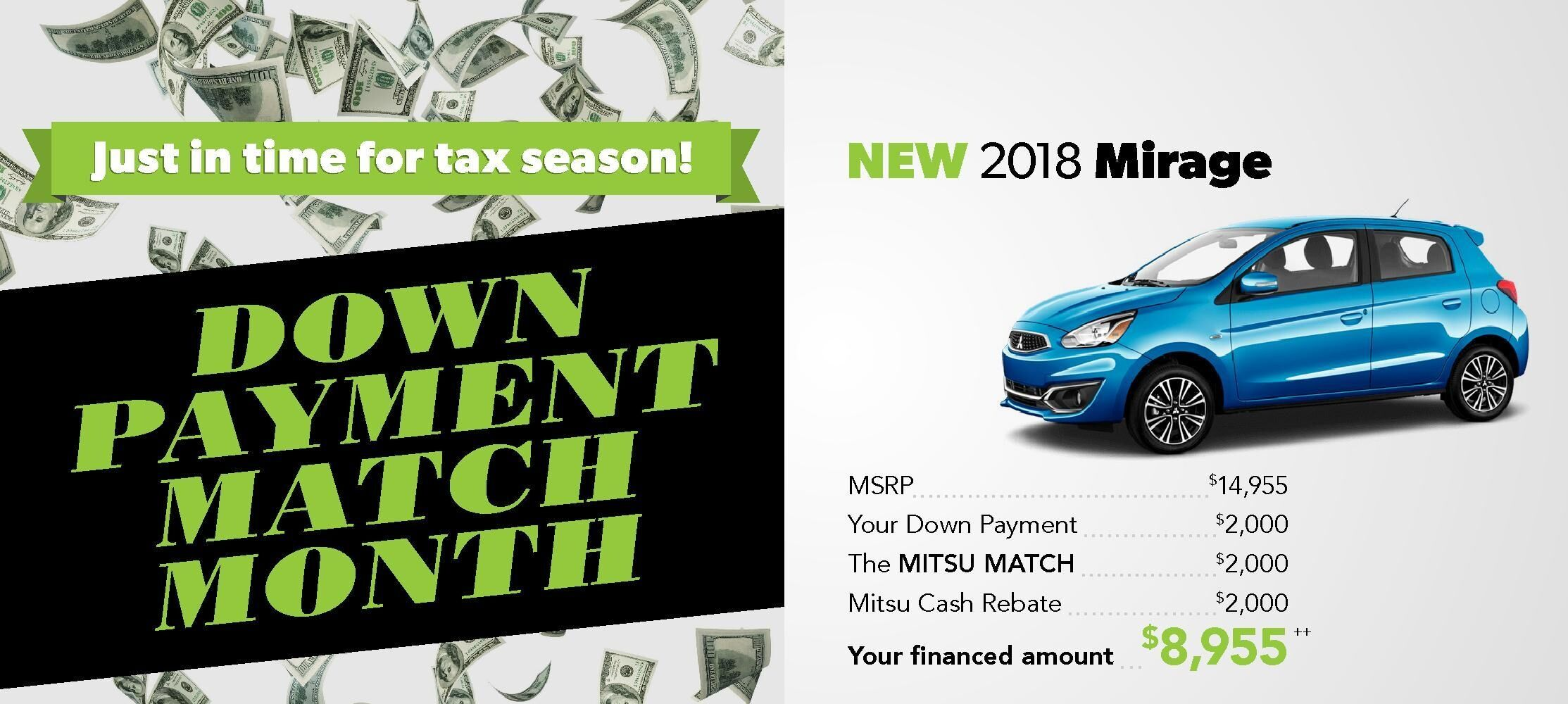 Down Payment Match Event