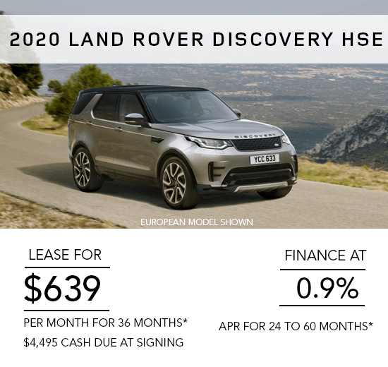 Land Rover Discovery HSE Offer