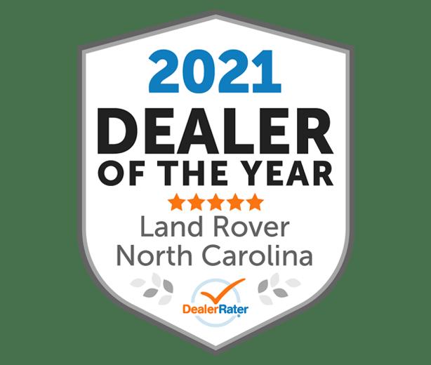 2021 DealerRater Dealer of the Year Award