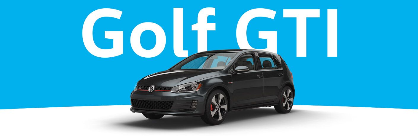 New Volkswagen Golf GTI Eau Claire, WI