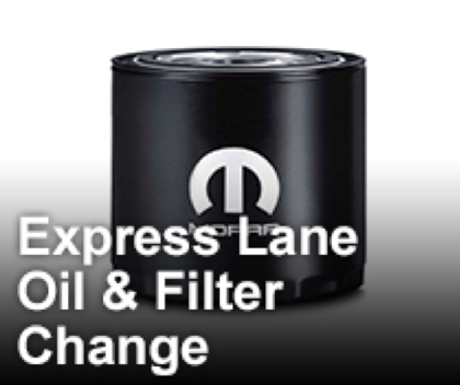 Express Lane Oil & Filter Change