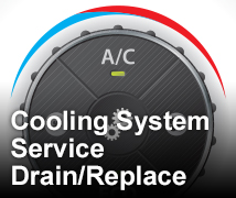 Cooling System Service <br>Drain/Replace