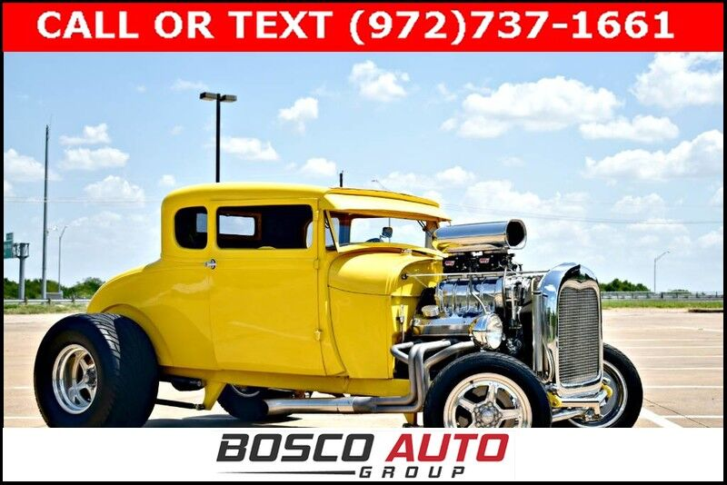 1929 Ford Model A 5 Coupe Resto-mod Flower Mound TX