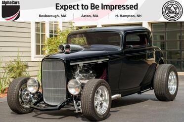 1932_Ford_Coupe_Custom Street Rod by California Dreamin' Hot Rods_ Boxborough MA