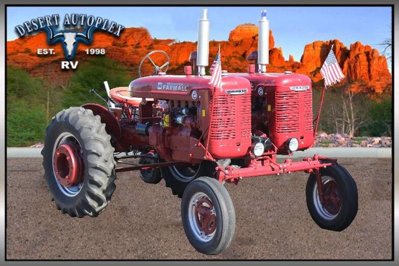 1950 Farmall Super C Twin Engine Classic Tractor Mesa AZ