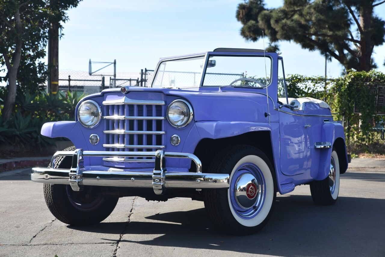 1950 Willies Overland Jeepster Santa Barbara CA