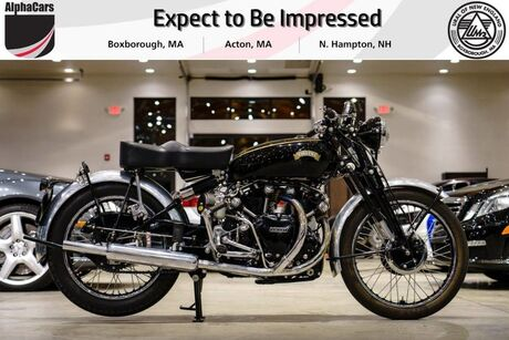 1952 Vincent Black Shadow C Series Boxborough MA