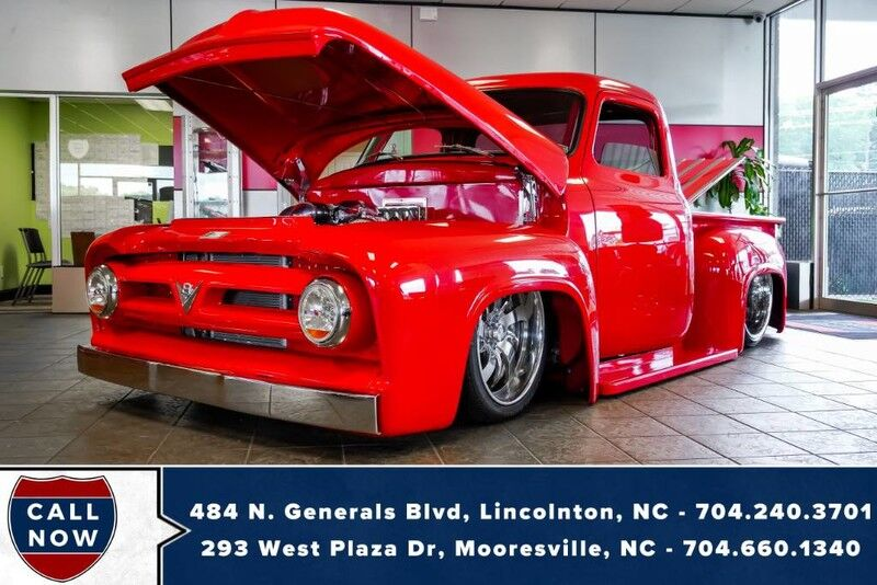 1953 Ford F100 **CUSTOM w/ Cobra Motor & Air Ride** Mooresville NC