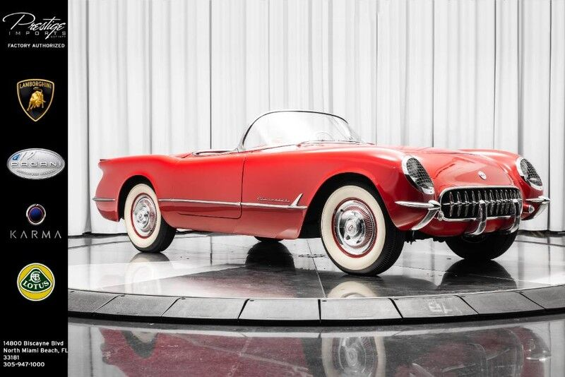 1954_Chevrolet_Corvette__ North Miami Beach FL