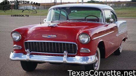 1955 Chevrolet Bel Air 2 Door Hardtop Coupe Lubbock TX