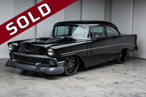 1956_Chevrolet_Bel Air Coupe_Twin Turbo V8_ Akron OH