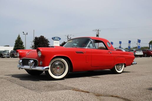 1956 Ford THUNDERBIRD HARDTOP- CHERRY RED- BEAUTIFUL CLASSIC CAR Essex ON