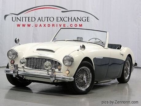 1958 Austin Healey 100-6 BN4 2.6L ST6 convertible Addison IL