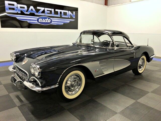 1958 Chevrolet Corvette Complete Nut and Bolt Restoration, Top Flight NCRS Score Houston TX