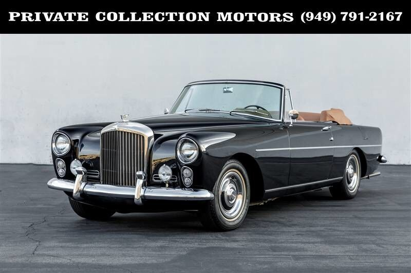 1961_Bentley_Drophead MULLINER PARK WARD__ Costa Mesa CA