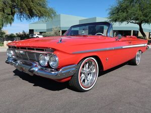 1961_Chevrolet_Impala SS_409 Convertible_ Scottsdale AZ
