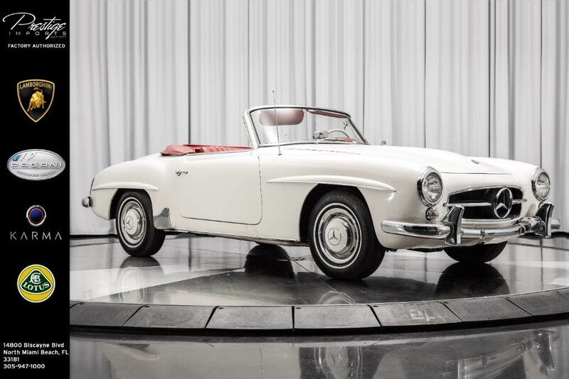 1961_Mercedes-Benz_190SL__ North Miami Beach FL