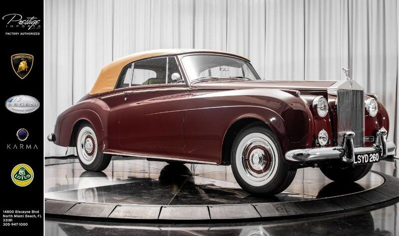 1961_Rolls-Royce_Silver Cloud II__ North Miami Beach FL