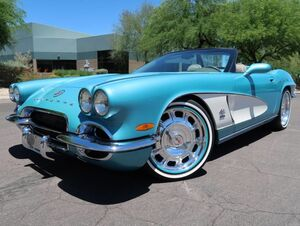 1962_Chevrolet_Corvette_Convertible CRC Custom_ Scottsdale AZ