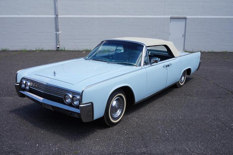 1962 Lincoln Continental Restored by Jerry Capizzi Lodi NJ