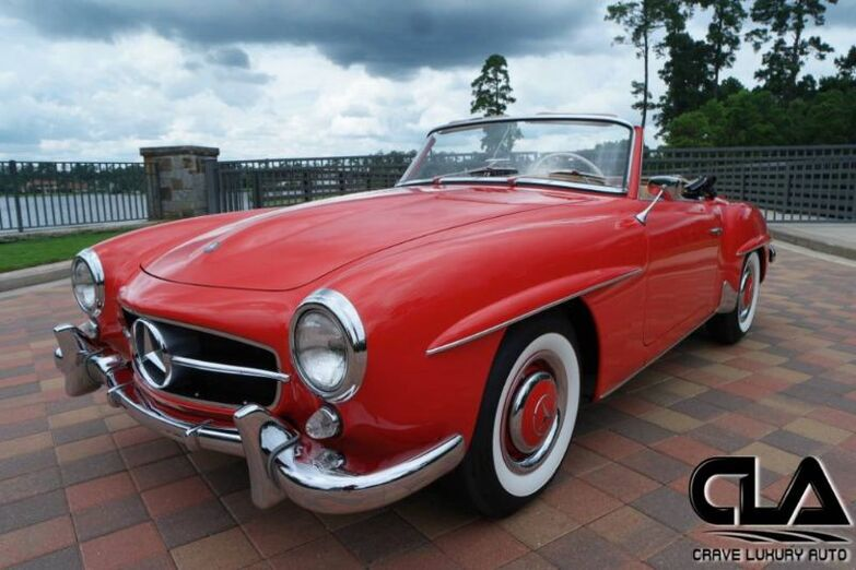 1962 Mercedes-Benz 190SL  The Woodlands TX