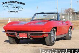 1963_Chevrolet_Corvette_Convertible_ Lubbock TX