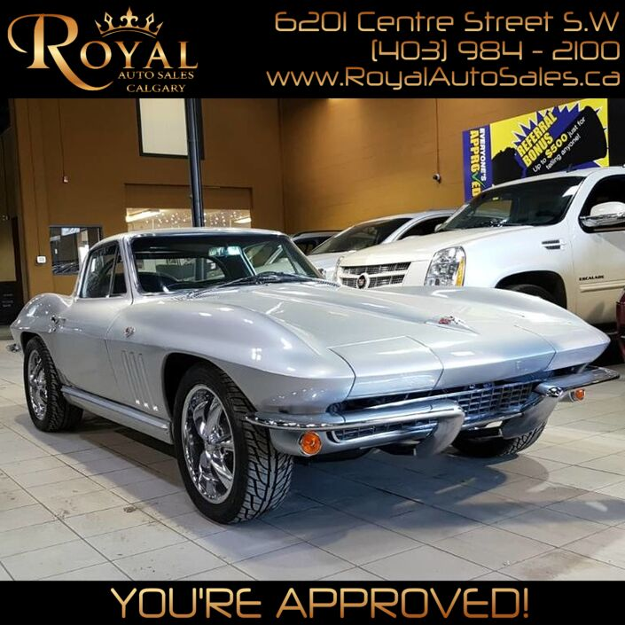 1965 Chevrolet Corvette Stingray Calgary AB