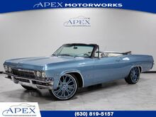 1965_Chevrolet_Impala SS_Convertible 396 Highly-Optioned Asanti Wheels_ Burr Ridge IL