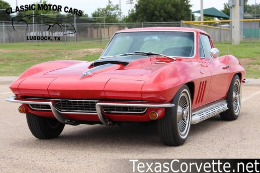 1966 Chevrolet Corvette Coupe Lubbock TX