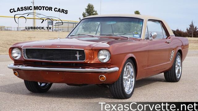 1966 Ford Mustang  Lubbock TX