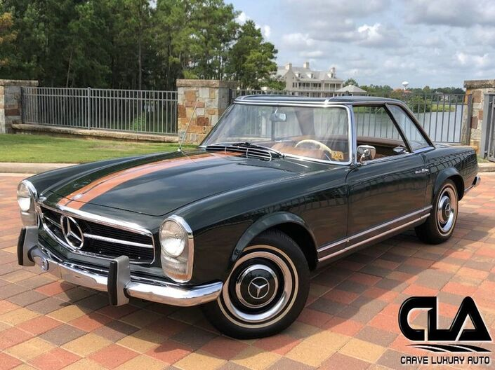 1966 Mercedes Benz 230SL Roadster  The Woodlands TX