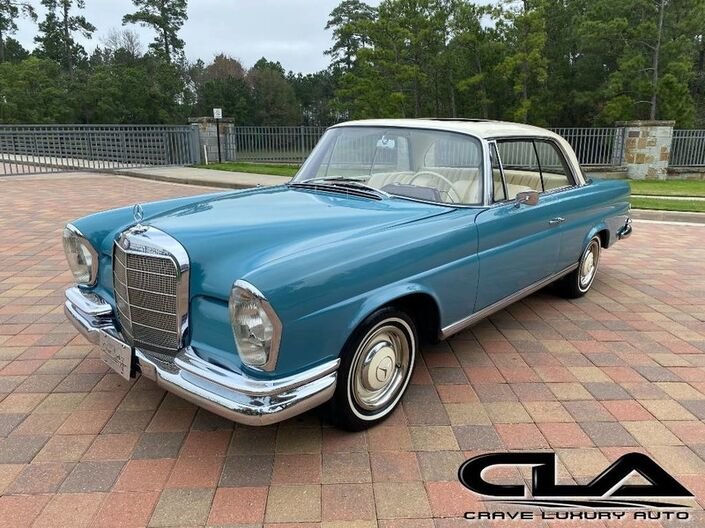 1966 Mercedes-Benz 250SE/C Coupe  The Woodlands TX