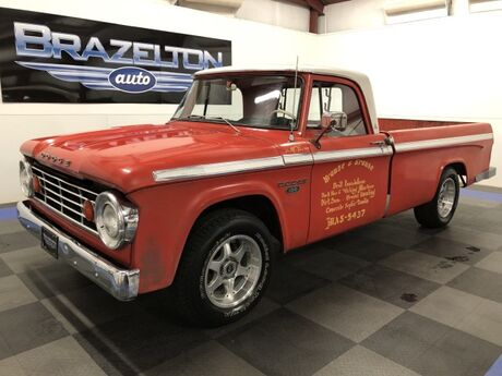 1967 Dodge D100 2-Owner (2nd is collector) in Texas, Orignal Condition, 318 V8, Automatic Houston TX