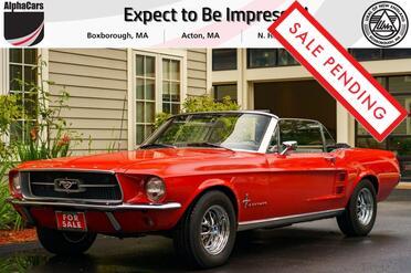 1967_Ford_Mustang_Convertible 289_ Boxborough MA