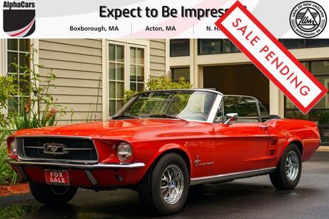 1967 Ford Mustang Convertible 289 Boxborough MA
